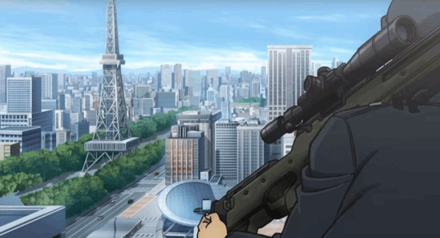 緋色の弾丸の聖地は名古屋のどこ?特報映像から舞台を5つ特定